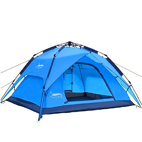 QAR Doppelschicht-Automatikzelt Sturmsichere Campingzelte Zelt