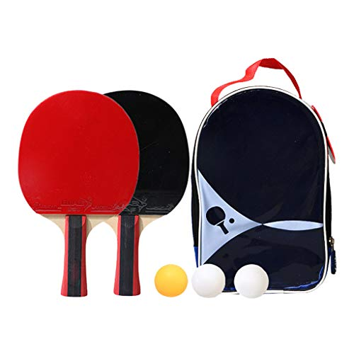 Purchase GODET Ping Pong Paddle Set (2-Player Bundle) Premium Table Tennis Bundle Set, 3 Training Pi...