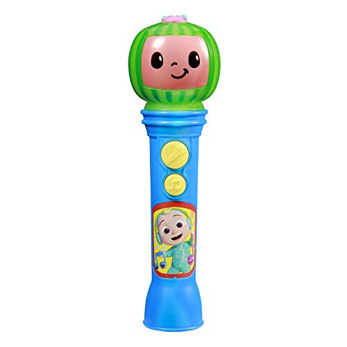 Cocomelon Toy Microphone for Kids, Musical Toy for Toddlers with Built-in Cocomelon Songs, Kids Microphone Designed For Fans of Cocomelon Toys and Gifts