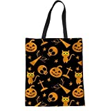 Women Shopper Pouch Spooky Halloween Neuheit Print Woman 'Casual Canvas Einkaufstasche Tuch...