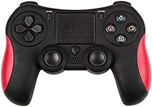 PS4 Gamepad, DualShock 4 Wireless Controller for Playstation 4, Bluetooth & Micro USB & 3.5MM Interface & Multi-Touch Clickable TouchPad & Programmable & Support iOS 13