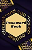 Password Book: Personal internet address and password logbook, password books with alphabet index