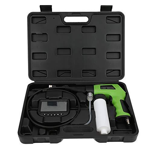Heayzoki Reinigungspistole für Autoklimaanlage, LCD-Display Visuelle Reinigungspistole für Autoklimaanlagen Rohr Endoskop-Verdampfungsbox Sichtbare Reinigungspistole mit 4,3-Zoll-HD-4K-Bildschirm