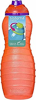 Sistema Davina BPA Free Water Bottle, 700 ml, Assorted