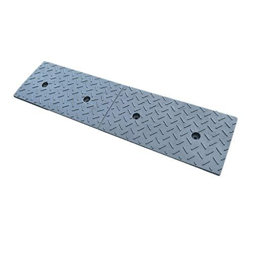 Uphill School Ramps, Damping Noise Reduction Mat Locomotief Rolstoel Slope Pad Outdoor Auto Wash Driehoek Pad 100 x 25 x 5 cm.