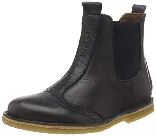 Bisgaard Unisex-Kinder 50203218 Chelsea Boots, Blau (608 Navy), 31 EU