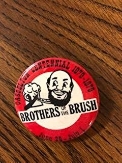 Casselton Centennial Brothers of the Brush Pin