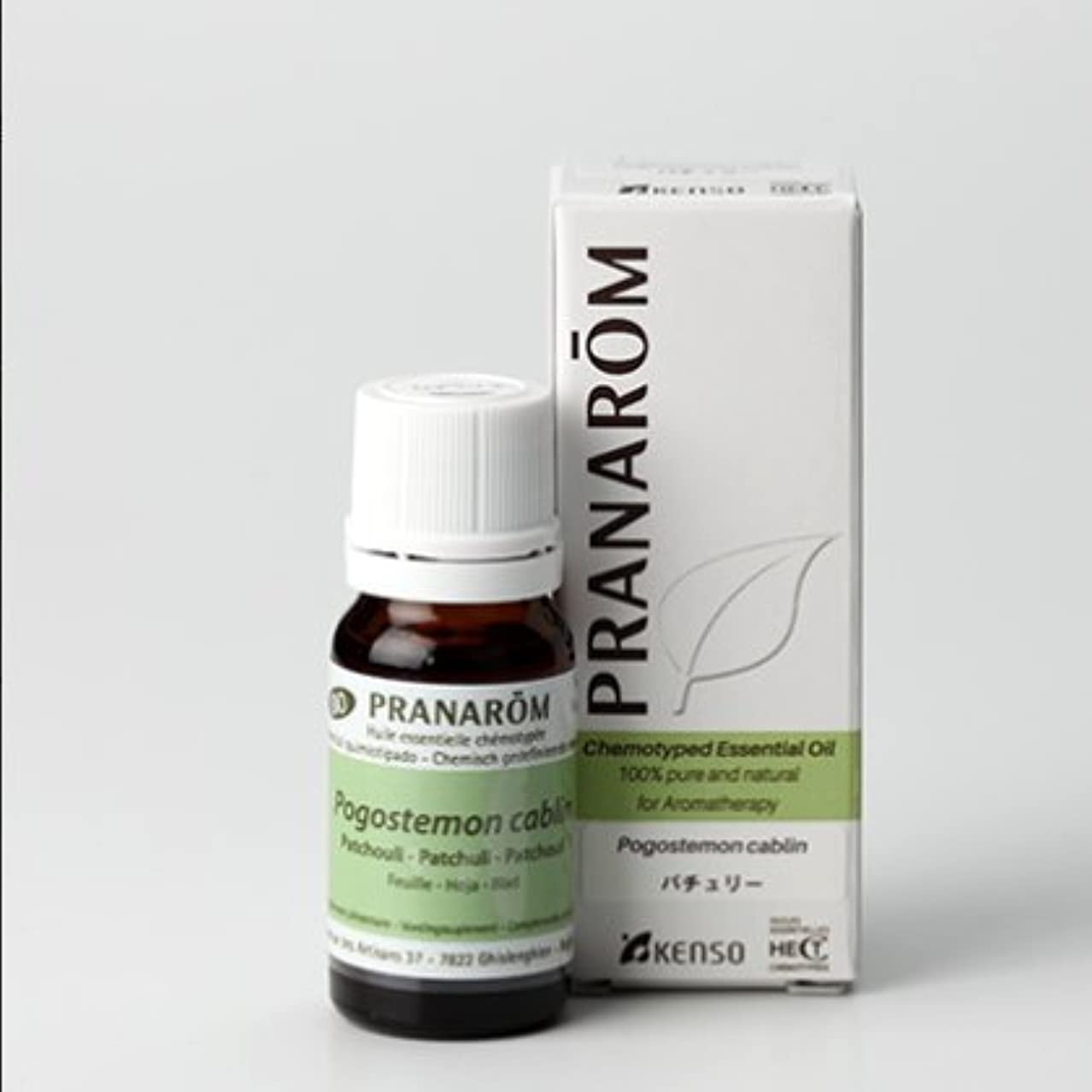 ディスコ慢性的フィットパチュリー 10mlベースノート プラナロム社エッセンシャルオイル(精油)