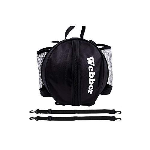 GYZLZZB Bolso de baloncesto redondo portátil, bolsa de almacenamiento de fútbol Oxford, diseño de correa de hombro desmontable, bolso de equipo de entrenamiento de un solo hombro, adecuado para deport