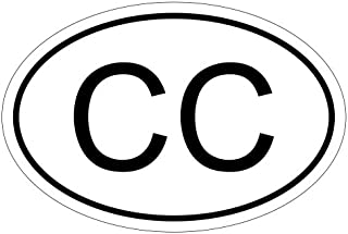 Konsularisches Korps CC 15 x 10 cm Autoaufkleber Sticker Aufkleber KFZ Flagge