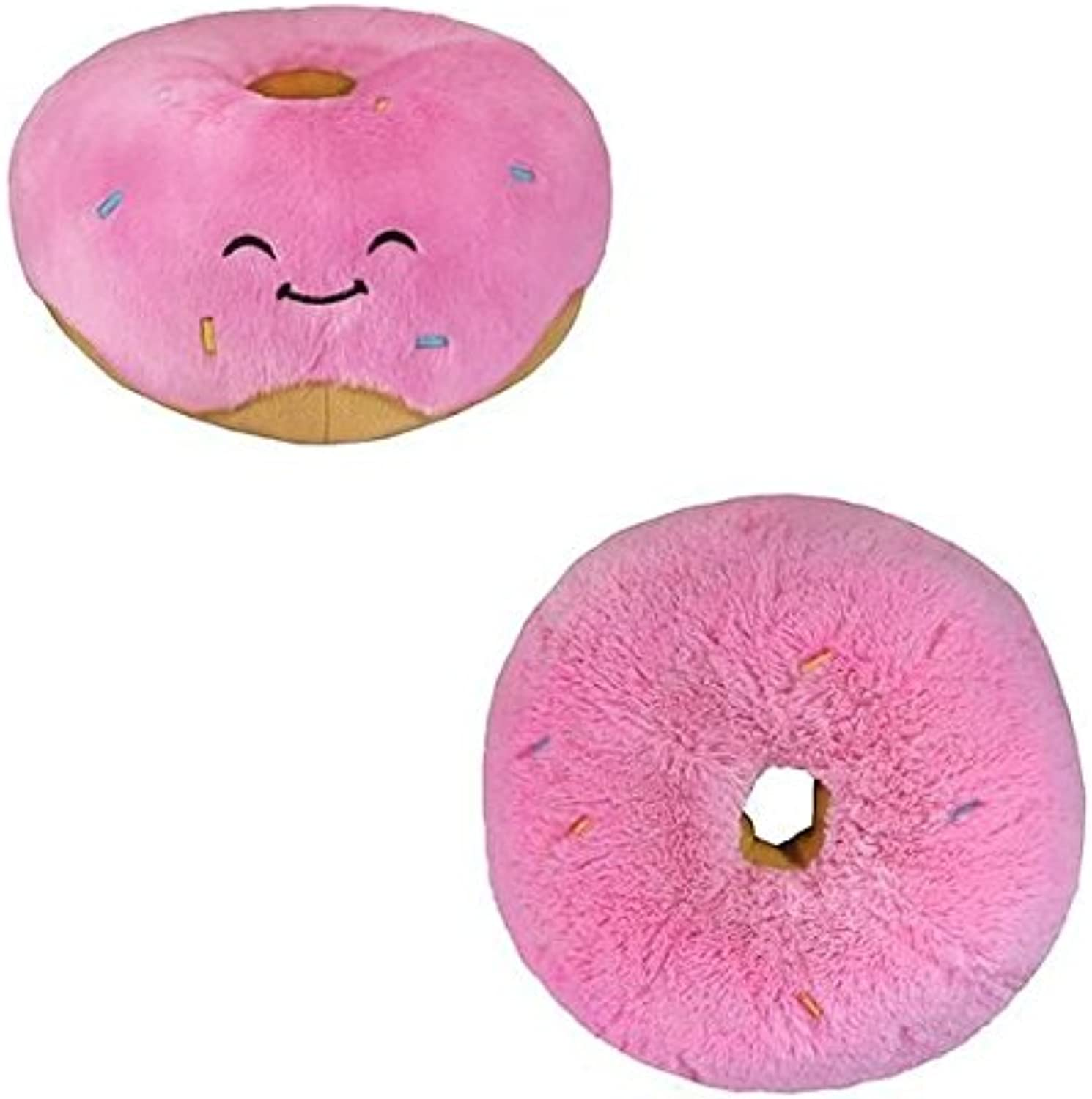 Squishable   Pink Donut Plush  15  [Toy]