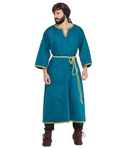 ThePirateDressing Medieval Renaissance Pirate Viking LARP Mens Costume Hippolytus Greek Tunic (Medium)