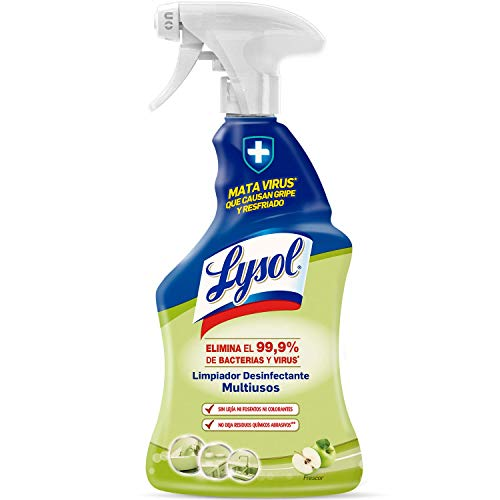 Lysol - Spray Desinfectante y Limpiador Multiusos - 1 L