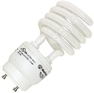 26W CFL Mini Spiral GU24 Base 5000K Daylight =120W Fluorescent Light Bulb, 2 Prong, Twist and Lock, Spiral