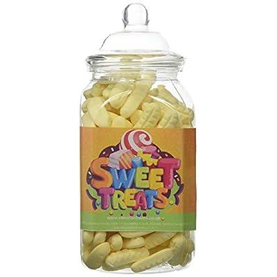 mr tubbys foam bananas - sweets n treats orange label - medium jar 420g(pack of 1) Mr Tubbys Foam Bananas – Sweets n Treats Orange Label – Medium Jar 420g(Pack of 1) 41M7YjO6quL
