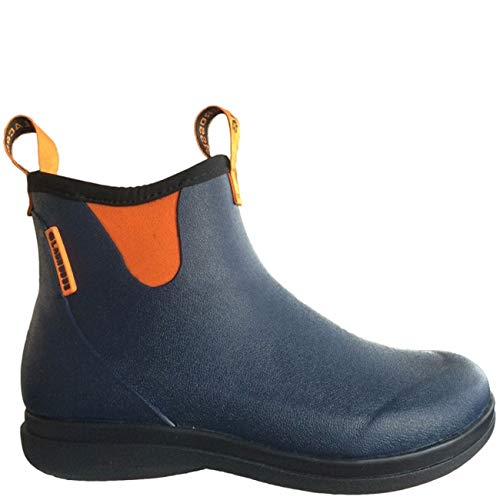 LaCrosse Woman Hampton rubberboots Navy/Orange, Gr.- 36 EU