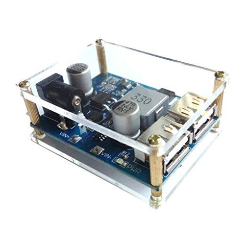 DXX-HR 24V / 12V To 5V 5A DC-DC Step-Down Power Supply Module U0026 External Box