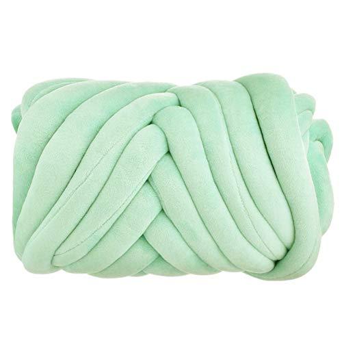Arm Knitting Yarn, Hand Knitting, Velvet Arm Knit Yarn, Jumbo Yarn, Cotton Tube Velvet Yarn Super...
