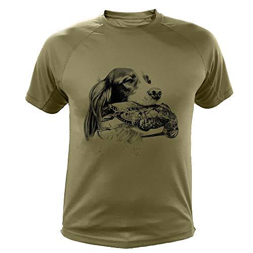 AtooDog Tee Shirt, Setter & Bécasse - SUTEK365-XL