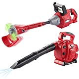 JOYIN 17 inches Toy Plastic Leaf Blower and 23 inches Weed Trimmer Weed Eater Toy with Realistic Sound Effect Kids Pretend Play Garden Tool Toy