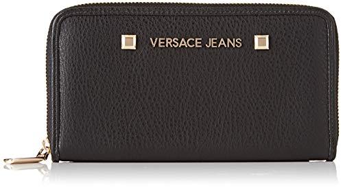 Versace Jeans Couture Damen Wallet Geldbeutel, Schwarz (Nero), 1x10,5x19,5 centimeters