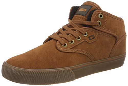 Globe Unisex-Erwachsene Motley Mid Skateboard Shoe, Hazel/Tobacco/Fur, 48 EU