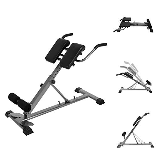 Adjustable Abdominal Bench Portable Foldable Roman Chair Back Hyperextension Press Machine For Strengthening Abs Home Gym US Stock