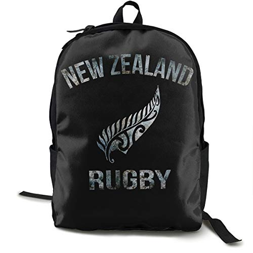ラグビーニュージーランド代表 オールブラックス リュックサック バックパック 通学 通勤 出張 旅行 多機能 メンズ レディース 大容量 黒 アウトドアリュック 登山リュック