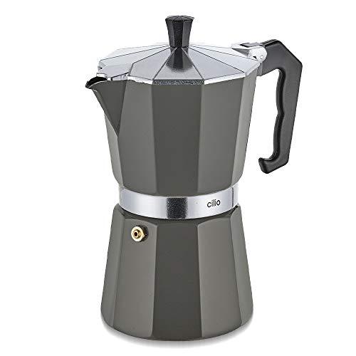 Cilio Classico 321395 Espresso Maker Grey