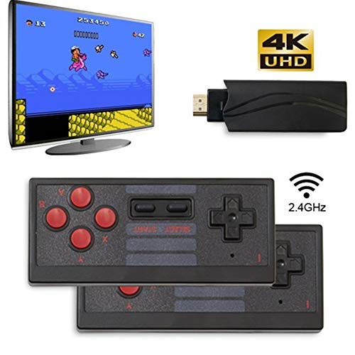 No.eight Upgrade Wireless Old Arcade Classic Retro Video Game Console with 628 Video Game Consoles, Video Handheld Game Console