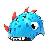 ConpConp Casco para Niños Casco de Animal de Dibujos Animados Casco de Dinosaurio Casco Ajustable para Casco de Scooter de Bicicleta