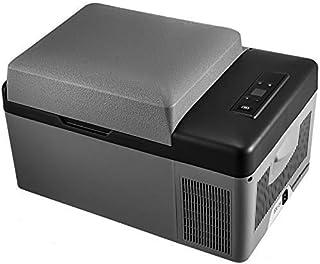 TW Mini Frigo 12Litres Glaci/ère /électrique Portable 12-24V//220V Glaci/ère /Électrique Chaud//Froid 0-66/°C pour Voiture Et Maison,Black-15L