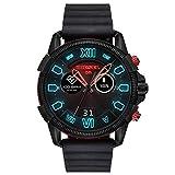 【ディーゼル ウォッチ】Diesel Touchscreen Smartwatch Full Guard 2.5 Black Silicone DZT2010 / ディーゼル タッチスクリーン スマートウォッチ ブラックシリコンベルト [並行輸入品]
