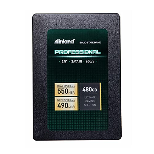 Inland Professional 480GB SSD 3D NAND SATA III ...