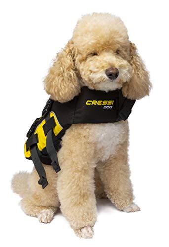 Cressi Dog Life Jacket, Giubbotto Salvagente Per Cani, Giubbotto Di Salvataggio Per Cani, Gilet Salvagente Per Cane, Giubbotto Di Sicurezza Galleggian