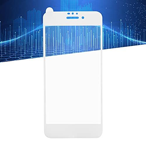 Compatible con Protectores para teléfonos móviles, el Vidrio Ultrafino es de Aproximadamente 0.3 mm / 0.01 Pulgadas, dureza súper Dura 9H, más Seguro Que Otros Productos de Vidrio(White, iPhone 6/6S)
