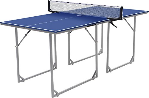 Buy Cheap Kettler Junior Mid-Sized Collapsible Table Tennis Table, Blue Top