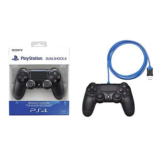 Sony - Dualshock 4 V2 Mando Inalámbrico, Color Negro...