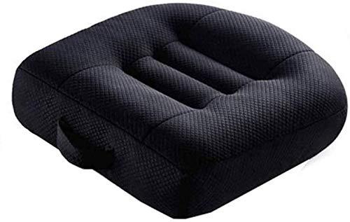 BESTPRVA Adulti Booster Car Seat Booster Car Seat Cushion cotone traspirante Fill driver ammortizzatore di sede, in modo efficace aumentare il campo visivo da 12Cm Angolo Ascensore cuscino del sedile,