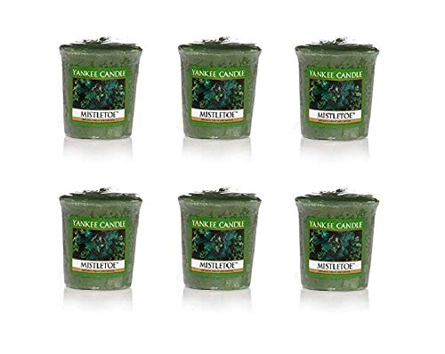 Yankee Candle Lot of 6 Balsam & Cedar Votives