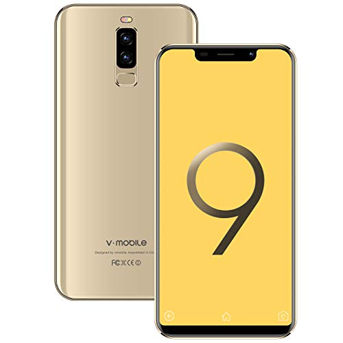 Moviles Libres Baratos 4G VMOBILE S9+(2019) 5.84' 3GB+16GB/128GB Android 8.1...