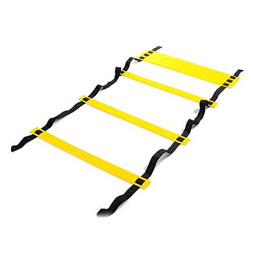 Manda Stell - Escalera para entrenamiento de fútbol, 3/4/8 m, 0, 3 m.