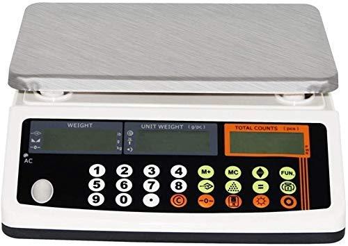 FZYE Cuisine électronique 66lb / 0.0002lb Comptage électronique de précision, Balance de Pesage industrielle Balance analytique de précision Balance analytique numérique de Haute précis