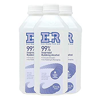 Ever Ready First Aid Isoprophyl Rubbing Alcohol 99% 16 oz - 3 Count
