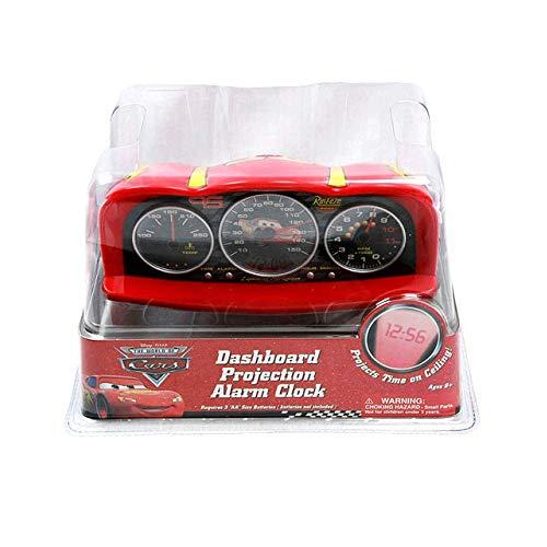 Disney Pixar Cars Dashboard Projection Alarm Clock - Cars Alarm Clock