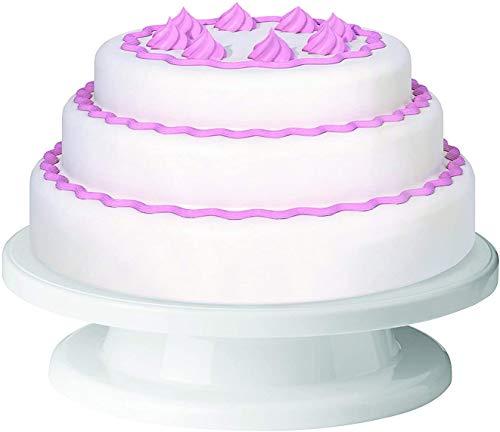 Bocotoer Plato giratorio de glaseado de 28 cm para decoración de tartas, giratorio, para repostería, soporte para tartas