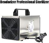 FCH-GY Generador de ozono Eliminador de olores Naturales Profesional Purificador de Aire Limpiador Comodidad Comercial Esterilizador de ambientador de Acero Inoxidable Profesional - 10g