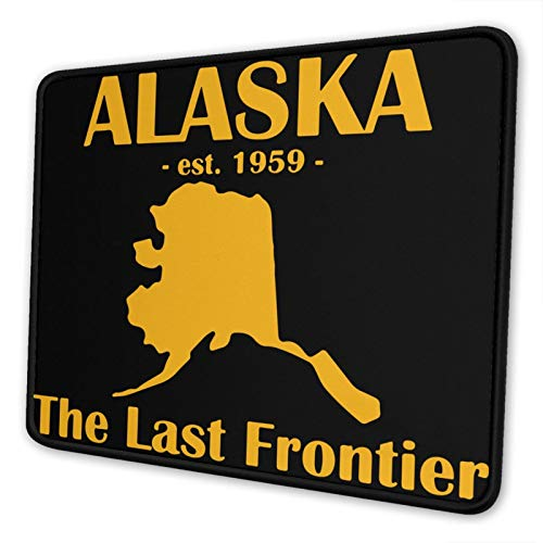 Ramwans Alaska The Last Frontier Large Gaming Ergonomic Mouse Pad Cute Personalized Mouse Pad for Office Small Mouse Pad Thin for Travel Laptop Car