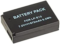 NinoLite LP-E12 互換 バッテリー EOS M2 / EOS M / EOS M10 / EOS Kiss X7 対応 lpe12_t.k.gai
