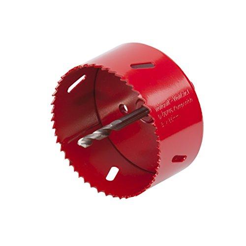 Wolfcraft 5486000 1 Lochsäge BiM ø 86 mm inklusiv Schaft und Bohrer